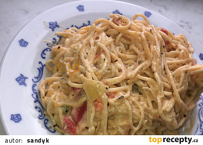 Balkánská omáčka se zeleninou