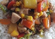 Kuřecí maso se zeleninou