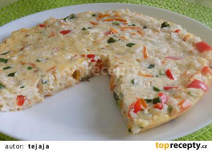 Rýžová frittata