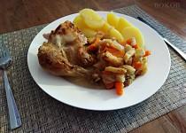 Kuře na kořenové zelenině