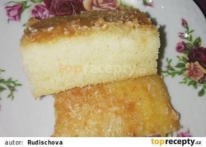 Nešlehaný šlehačkový koláč
