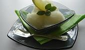 Citronová dietní zmrzlina