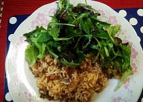 Hlívové rizoto