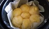 Povidlové buchty z horkovzdušné fritézy