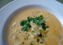Kuřecí polévka s kedlubnou