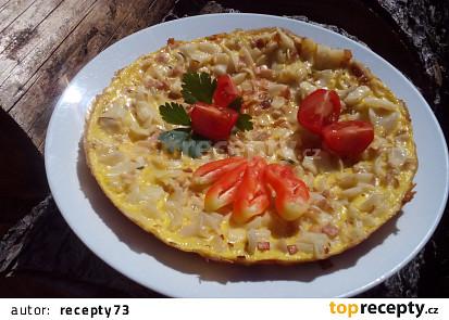 Šunko - flíčková omeleta