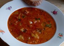 Patizonová gulášová polévka