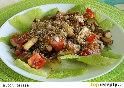 Tofu salát s pohankou