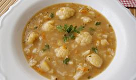 Cuketová zeleninová polévka bez mouky