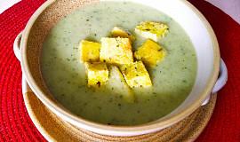 Cibulovo - libečková polévka se svítkem