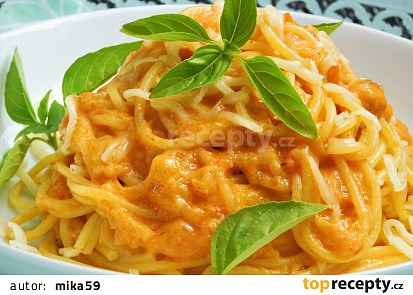 Fofr omáčka z cukety na špagety