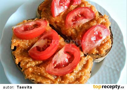 Cuketový tatarák  (Dělená strava podle LK - kytičky+zelenina i zvířátka)