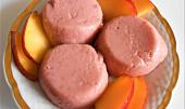 Jahodovo pudinkový dezert  (Dělená strava podle LK - Kytky + ovoce)