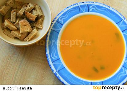 Polévka hokaido  (Dělená strava podle LK - kytky+ zelenina)