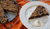 Špaldový borůvkový koláč