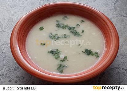 Květáková polévka, rychle a jednoduše