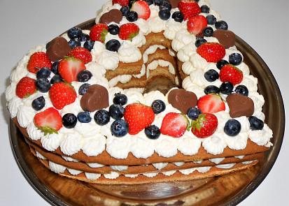 medový dort pro tchýňku