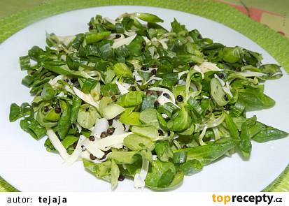 Letní čočkový salát