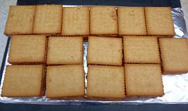 Nepečený dezert z máslových sušenek