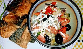 Smažená makrela