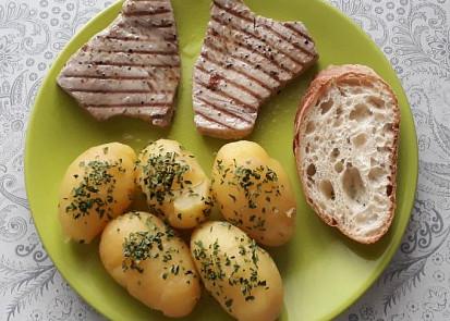 steak z tuňáka