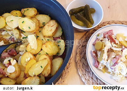 Francouzské brambory z remosky