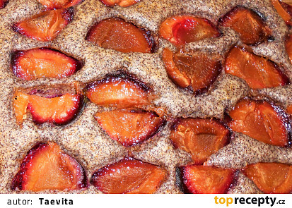 Makovec bez vajec  (Dělená strava podle LK - Kytky + ovoce)