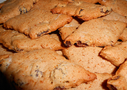 skořicovo medové sušenky