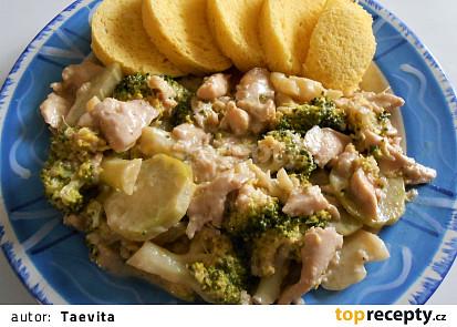Kuřecí nudličky na brokolici do SPLK
