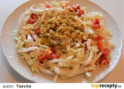 Vepřový mozeček na cibulce, se salátem z čínského zelí  (Dělená strava podle LK - Zvířata)