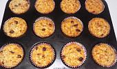 Vločkové muffiny s čokoládou