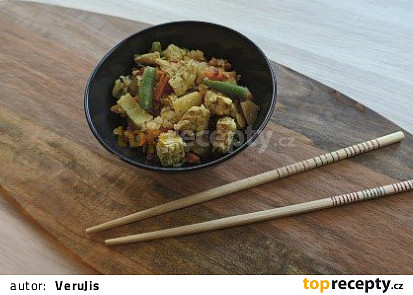 Odlehčený jídelníček s CWP: Shirataki rýže s krůtími prsy a zeleninou