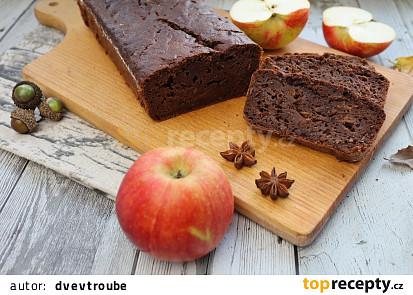Perníkový chlebíček s jablky