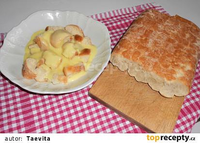 Dukátové buchtičky s krémem  (Dělená strava podle LK - kytičky)