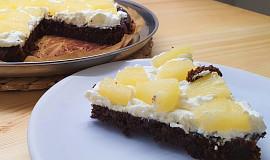 Čokoládový dort bez mouky (pečený v remosce)