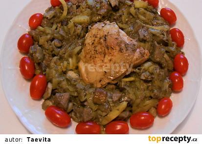 Upravené maminčino kuře  (Dělená strava podle LK - Zvířata)