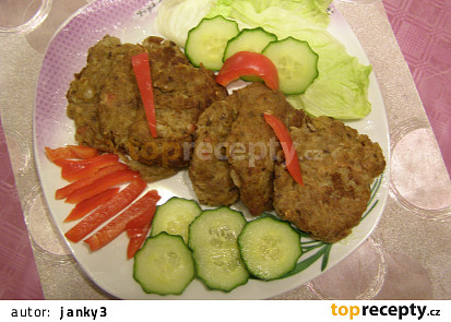 Zelné bramborové vošouchy (bramboráčky, cmunda...)