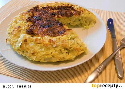 Zelný koláč z pánve  (Dělená strava podle LK - Zvířata)