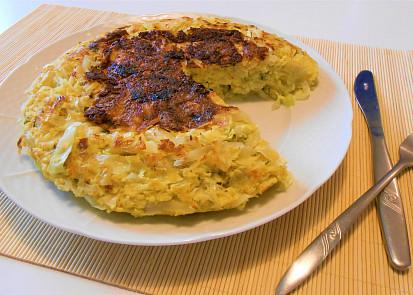 Zelný koláč z pánve do SPLK