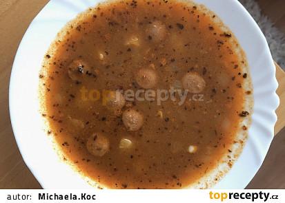 Frankfurtská polévka s párečky
