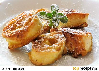 Tortillové šneky s jablky