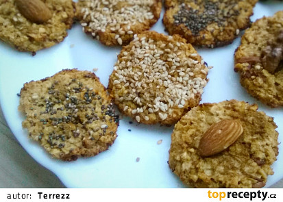 Ovesné sušenky s jablkem a skořicí