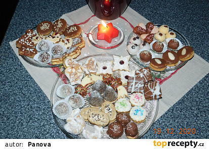 Moje vánoční cukroví - foto - inspirace
