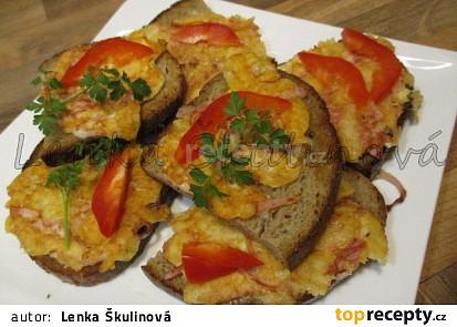 Rychlé topinky s omeletou