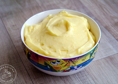 Žloutkový krém (creme patissiere)