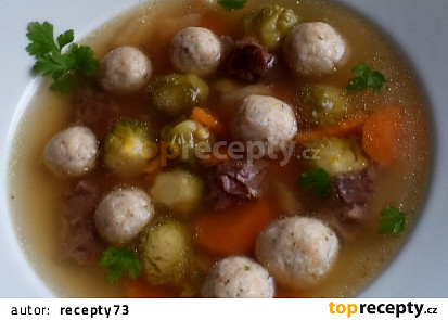 Jemné morkovo - drožďové knedlíčky / nočky