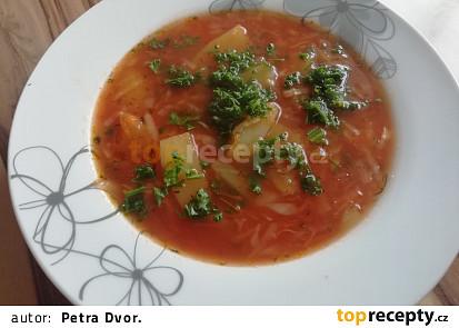 Celerová bulharská polévka