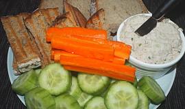 Pomazánka z uzené makrely a másla