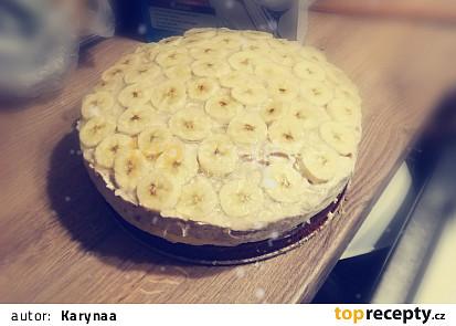 Banánový dort