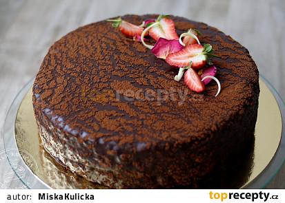 Sachrův dort podle Mišky Kuličky